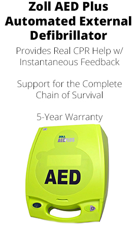 Z0LL AED PLUS AUTOMATED EXTERNAL DEFIBRILLATOR