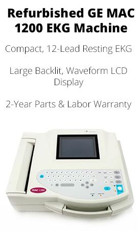 REFURBISHED GE MAC 1200 EKG MACHINE