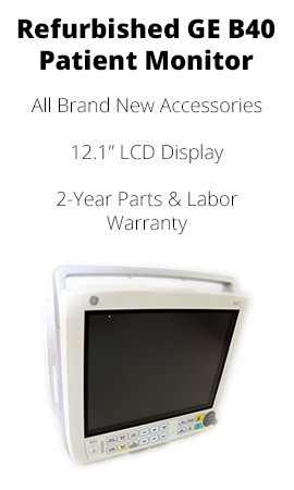 REFURBISHED GE B40 PATIENT MONITOR