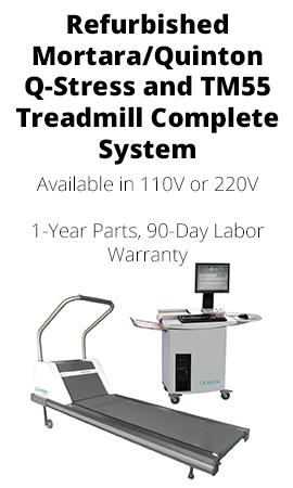 REFURBISHED MORTARA / QUINTON Q-STRESS AND TM55 TREADMILL COMPLETE SYSTEM